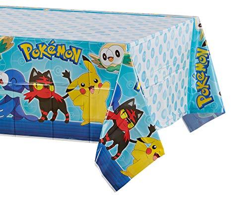 amscan 571859Kunststoff-Tischdecke Pokemon Core