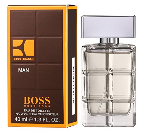 Hugo Boss Boss Orange Man Eau de Toilette, Uomo, 40 ml