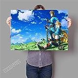 XWArtpic 3D Online Spiel Poster Für kinderzimmer Schlafzimmer Dekoration wandkunst HD Kindergarten Kinderzimmer Cartoon Movie leinwand malerei 50 * 70 cm
