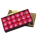 Seifenblume Goosun 18 Stk Rose Blütenblatt Körper Seife Hochzeit Party Festival Geschenk...