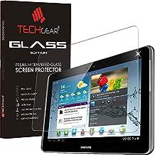 'Techgear–Protector de pantalla para Samsung Galaxy Note 10.1(GT-N8000Series) Funda Edition auténtico vidrio templado Protector de pantalla de cristal