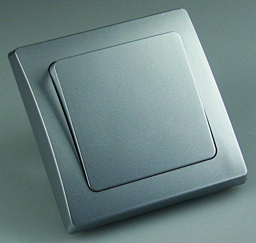 ChiliTec 21107 DELPHI - Interruptor de luz con 1 marco (230 V),...