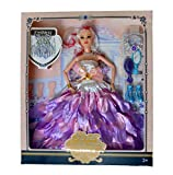 Caddle&toes Doll House Dream Barbie Doll Set with Pink Slippers Doll , 8