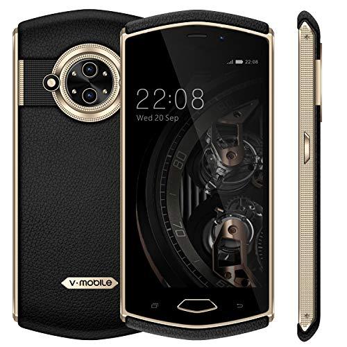 """Telefonos Moviles Libres v·mobile 8848 Movil (5"""" 3GB RAM 32GB ROM Cámara de 13MP+5MP Android 7.0 Dual SIM 3G+ 3200Amh GPS Bluetooth WiFi) Smartphone Libre (Negro)"""
