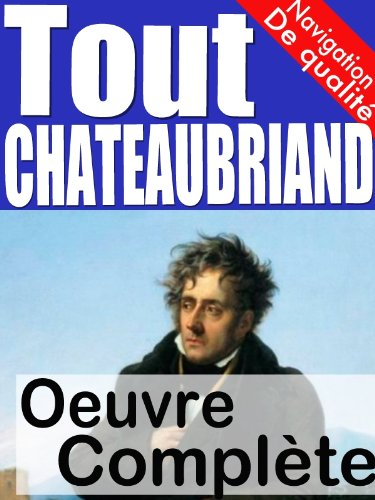 Tout Chateaubriand – oeuvre complète