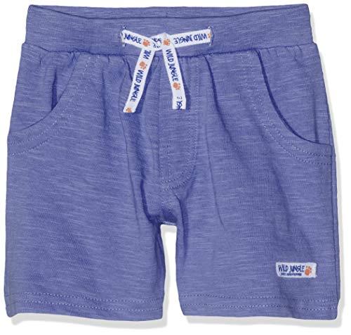 SALT AND PEPPER Baby-Jungen Shorts B Bermuda Jungle Uni Blau (Ink Blue 471) 86
