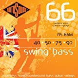 Rotosound Stainless Steel Standard Gauge Medium Scale Roundwound Bass Strings (40 50 75 90)