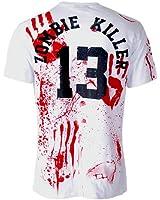 Darkside - Men´s Zombie Killer 13 T-Shirt White