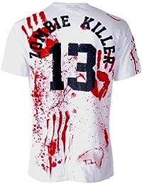 Darkside Zombie Killer T Shirt, weiß