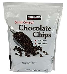 Baking Chocolate Chips - Semi-Sweet 2 Kg Big Value Bag