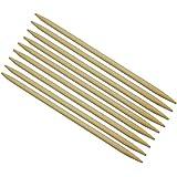 Conjuntos DE 11 Agujas DE Bambú Para Tejer Doble Punto 13cm
