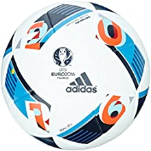 adidas Ball euro16 Top Réplica X, White/Bright Blue/Night añil, ac5414