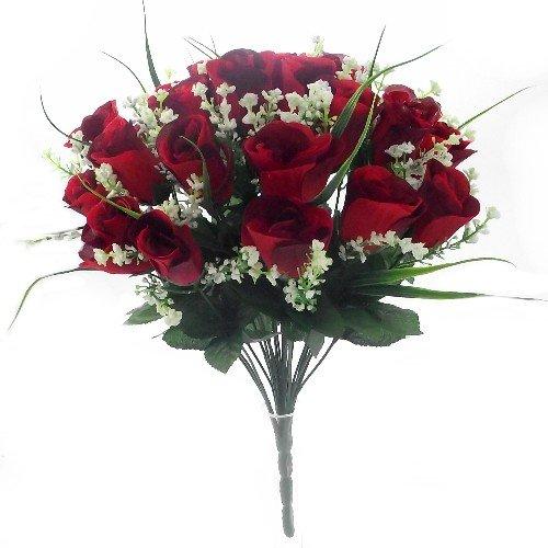 42-cm-soie-artificielle-rose-rouge-herbe-bush-avec-gypsophile-et-feuillage-24-25-heads-fleur-mariage