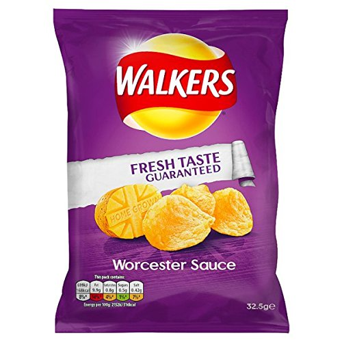 Walkers Chips Worcester Sauce - 32.5gr