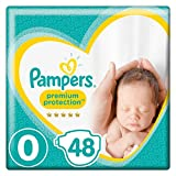 Pampers New Baby Größe 0 – 2x24 Stück Windeln