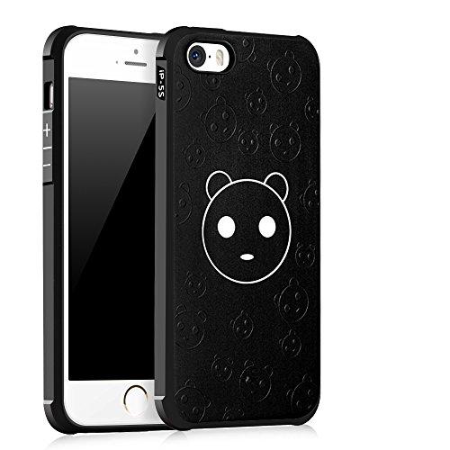 UKDANDANWEI Apple iPhone 5 [QKS] TPU Souple Housse de Protection Case Téléphone Pour Apple iPhone 5 - Style(04) Style(03)