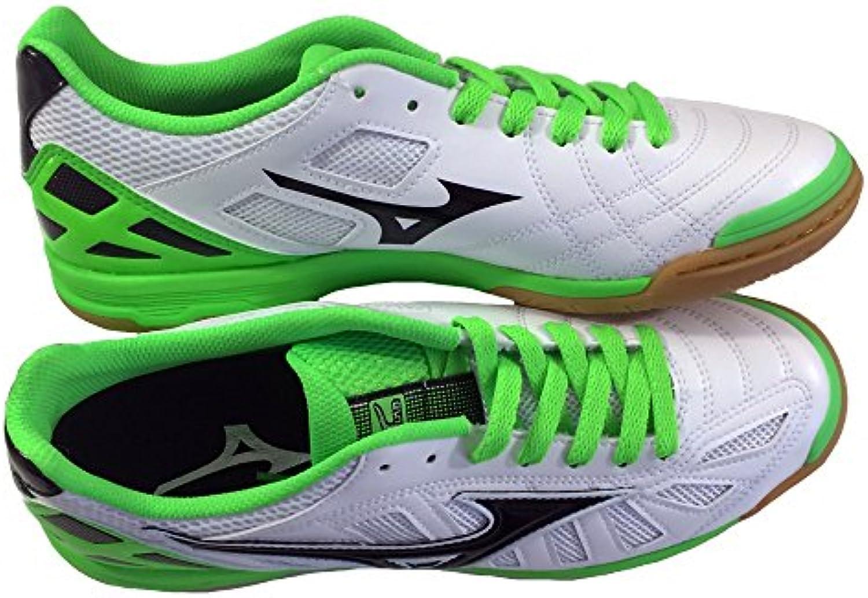 Mizuno Zapato de Fútbol Oficial 2015/2016 Sala Premium Q1GA155074 en Color Verde, Talla M, Color Negro
