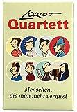 """Inkognito Loriot Quartett """"Menschen, die Man Nicht vergisst"""" für 2-4 Spieler, ab 3 Jahren, 32 Karten 9,5 x 6 x 1,3 cm  66082 ''Loriot Quartett''  Games  Kartenspiele"""