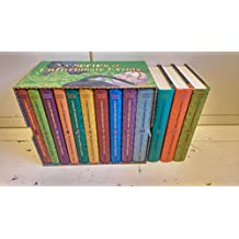 A Series of Unfortunate Events New Cover Collection – 13 books, RRP £90.87 (The Bad Beginning; The Reptile Room; The Wide Window)