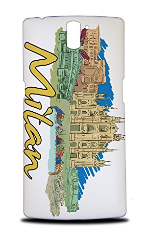 Price comparison product image Foxercases Design Milan Italy Hard Back Case Cover For OnePlus One
