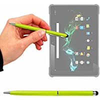 Lápiz Stylus Verde + Bolígrafo ( 2 En 1 ) Para Samsung Galaxy Book 10.6   Galaxy Book 12   Galaxy Tab S3 - DURAGADGET