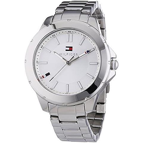 Tommy Hilfiger Watches KIMMIE - Reloj Analógico de Cuarzo para Mujer, correa de Acero inoxidable color