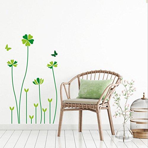 Aoligei Lucky Gras einfache kreative dekorative Wandaufkleber