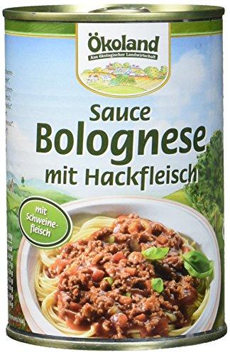 ÖKOLAND Sauce Bolognese, 3er Pack (3 x 400 g)