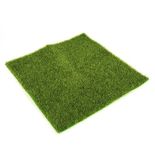 Delaman Künstliche Grasmatte Simulation Rasen Kunstrasen für Garten Balkon Haus Deko ( Size : 30x30cm )