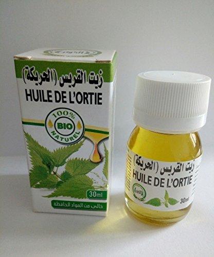 huile végétale pure d'ortie maroc- nettle oil 30 ml