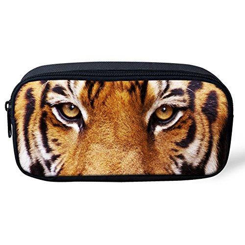 Tiger Mesh (Coloranimal Federmäppchen für Kinder, cooles Tiermuster S tiger)