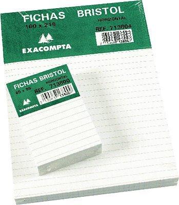 fichas-exacompta-bristol-65x95mm-horizontal-pack-100-unidades