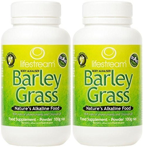 (2 PACK) – Lifestream Organic Barley Grass Powder | 100g | 2 PACK – SUPER SAVER – SAVE MONEY