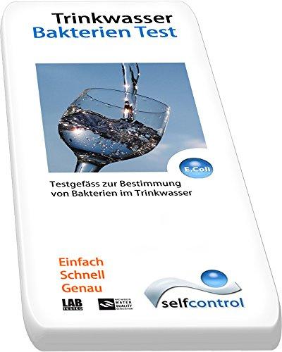 E-coli-bakterien Im Wasser (UW 5515 D 02 / 2 Trinkwasser-Bakterien-Test – einfach – schnell und genau Selfcontrol)