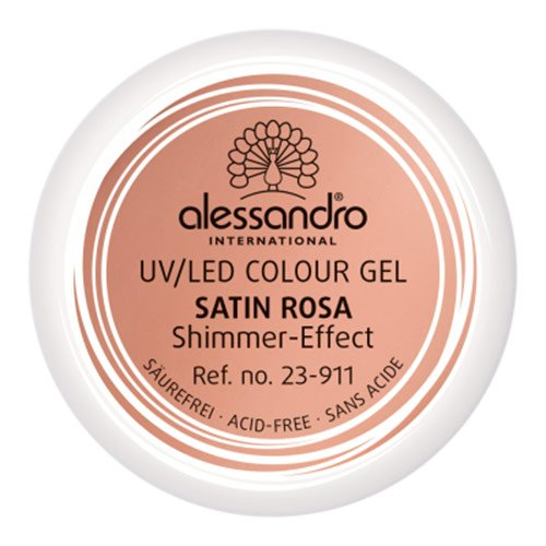 Alessandro International: Colour Gel -: Alessandro International: Farbe: Colour Gel 911 Satin Rosa (Gel 911)