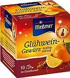 Meßmer Glühwein-Gewürz 10 Teebeutel, 5er Pack (5 x 15 g)