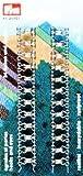 PRYM Federhaken und Augen Farbe: silberfarbig 24 St # 263858 NEU in OVP