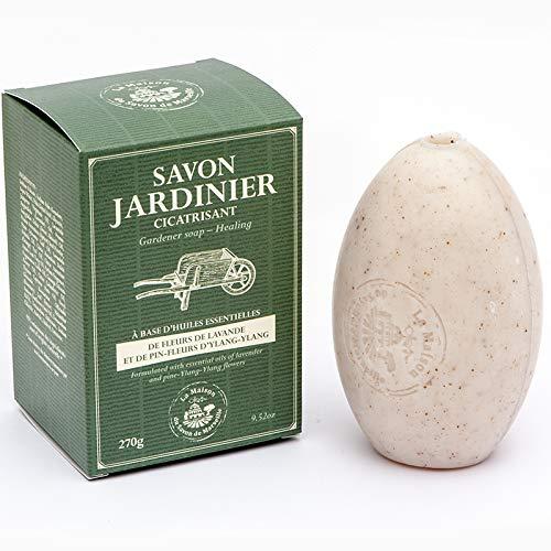 Savon Jardinier (Gärtnerseife) 270g - auch für Nostalgie Seifenhalter -