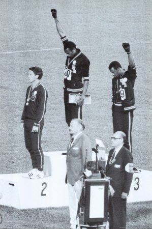 Poster 'Black Power, Mexico City Olympics 1968', Dimensione: 61 x 91 cm