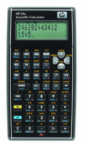 (Hewlett Packard) Scientific Calculator (HP 35s) - Hewlett Packard Programmierbarer Taschenrechner