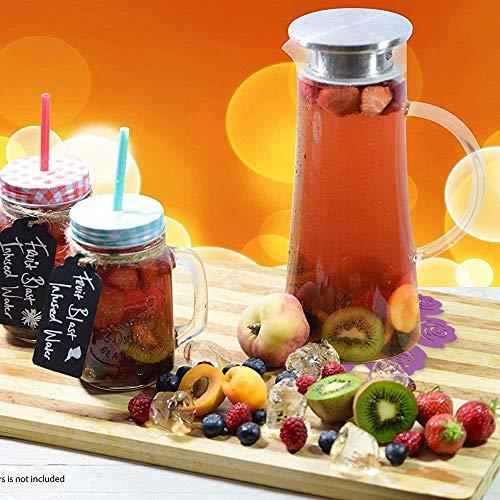 Glaskaraffe: Wasserkaraffe BOQO1.5L Glaskaraffe