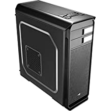 Aerocool Aero-500 Black Edition - Caja de ordenador (Midi-Tower, PC, 1x 120 mm, Fondo, ATX, Micro-ATX, Mini-ITX, Negro)