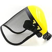 Visier-Schutzhelm-Hut Mit Largemetal Maschendraht-Augen-Schutz Für Motorsäge-Freischneider-Vollgesichtsschutz-Maske