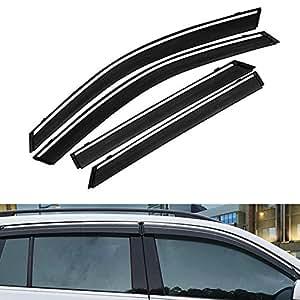 TUTU-C 4 St/ück f/ür Volkswagen Passat B8 2019 ABS-Kunststoff Fensterblenden Markisen Regenschutz Sonnenabweiser Schutz Auto Styling