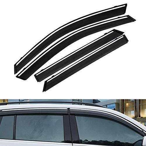 4 Stück für Toyota RAV-4 2015 2016 2017 2018 2019 ABS Kunststoff Fensterblenden Sonnenschutz Abweiser Schutz Auto Styling (Sonnenblende Für Rav 4)