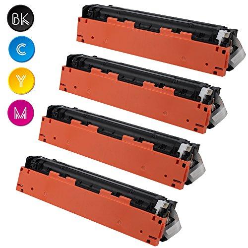 4 Pack Cool Toner kompatibel CB540A CB541A CB542A CB543A 125A Toner für...