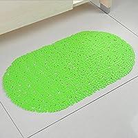 GFYWZ Vasca doccia piede casa stuoia tappetino da bagno , green , 69*39cm
