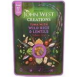 John Creations Ouest Thon Avec Du Riz Sauvage Et Les Lentilles 180G (Paquet de 6)