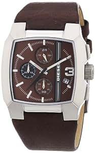 Diesel Herren-Armbanduhr Cliffhanger Chronograph Quarz Leder DZ4274
