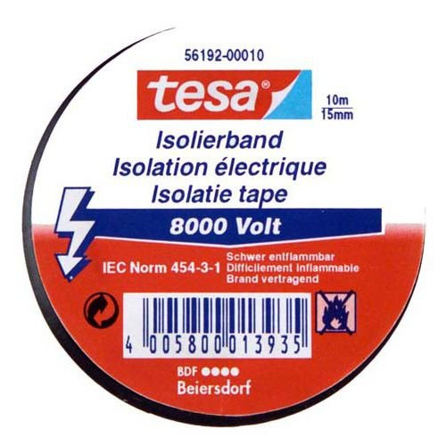 6000V 10mx15mm Iso Tape Isoband Klebeband rot ()